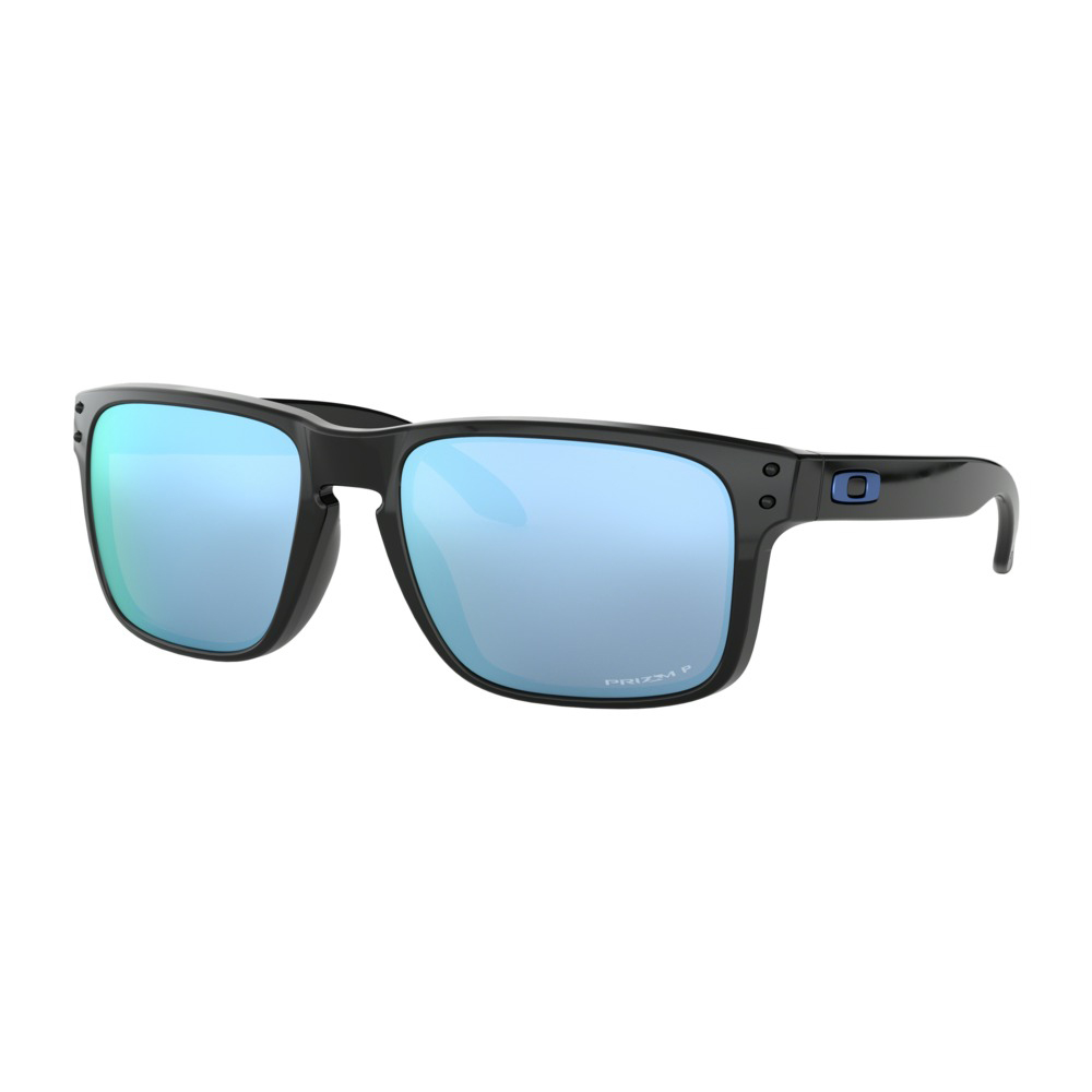22abd1c8f4 Oakley Holbrook Polished Black   Prizm Deep Water Polarized - Bild 1. Hover  to zoom