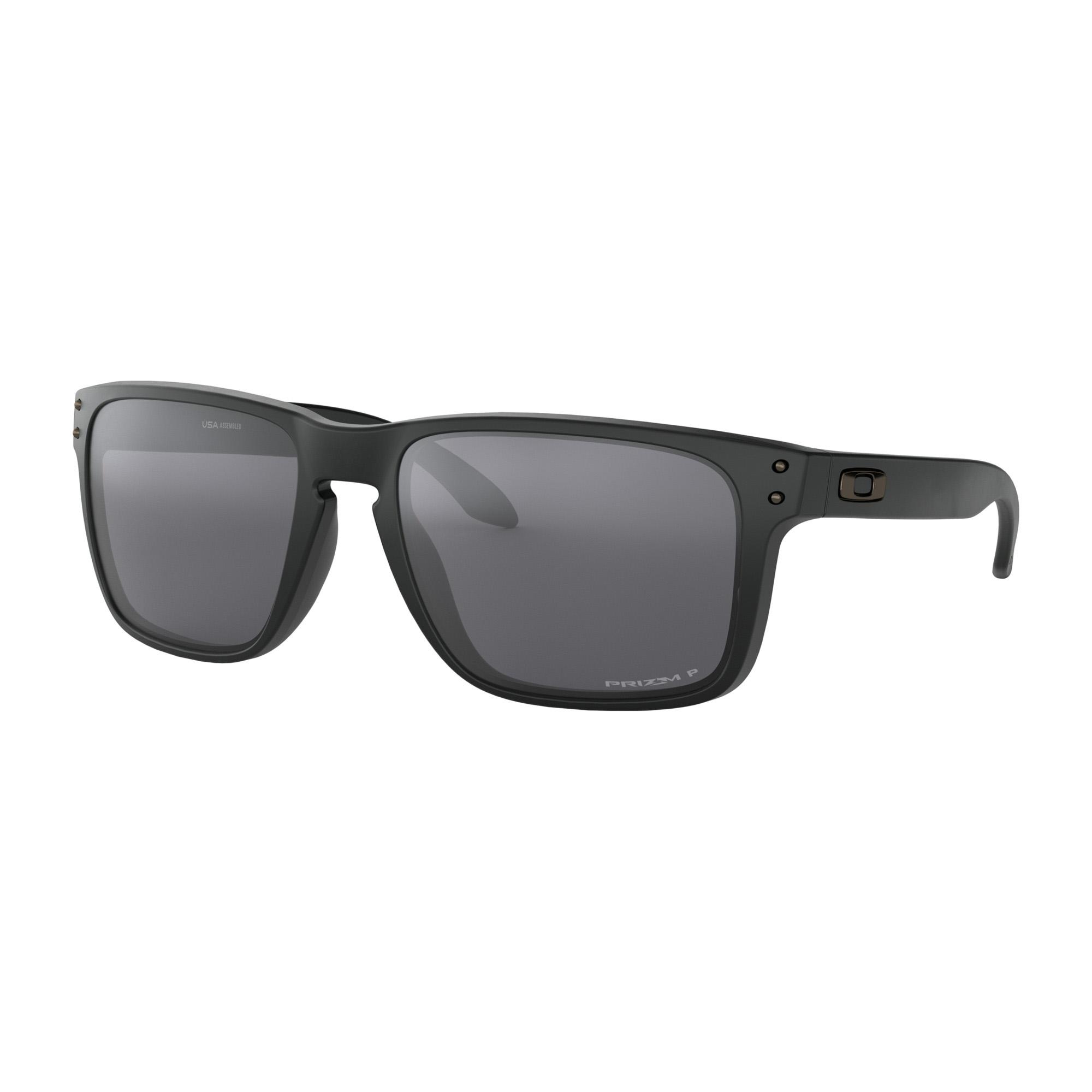 Oakley Sonnenbrille Holbrook Matte Black / Ruby Iridium Polarized Brillenfassung - Lifestylebrillen jKCo5rFo,