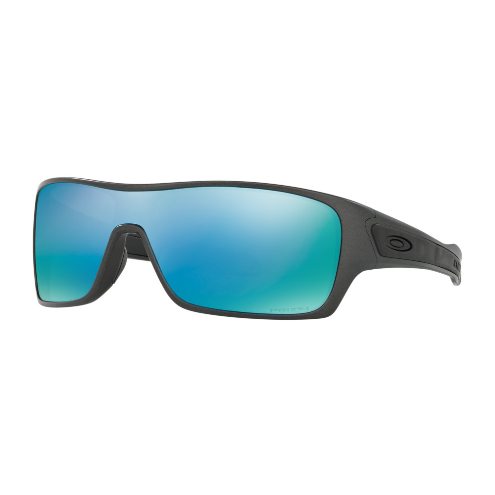 Oakley Sonnenbrille Turbine PRIZM Deep Water Polarized Polished Black Brillenfassung - Lifestylebrillen y40Emd8,